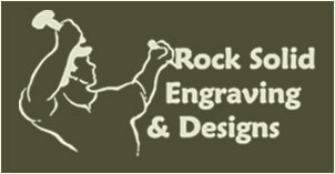 Rock Solid Designs & Engraving Logo